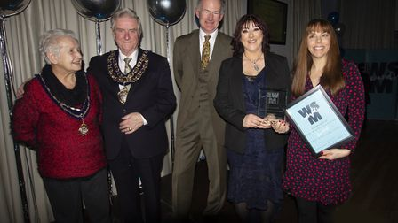 The business Reaper Events were joined by the Mayor & Mayoress of Weston-super-Mare.Picture: Andrew