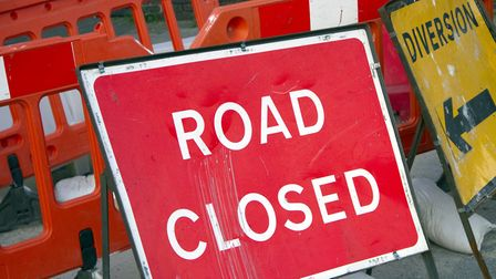Road closed. Picture: Getty Images/iStockphoto