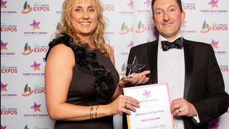Beauty Oasis Spa has won the Business Of The Year award.Picture: South West Business Awards