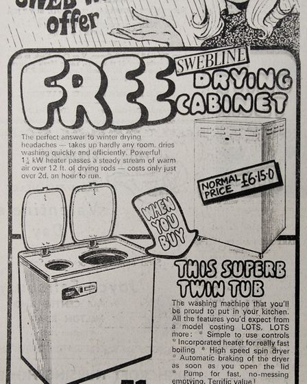 Ads 7th February 1969 Edition. Picture: WESTON MERCURY