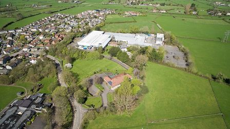 The factory site bought by Newland Homes looks set to be converted into housing.