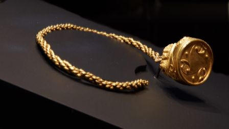 The Clevedon Torc. Picture: British Museum