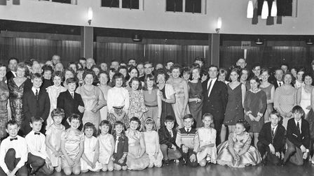 The Daly-Hayden Dance School pictured during their annual dance at the Royal Hotel, Weston-super-Mar
