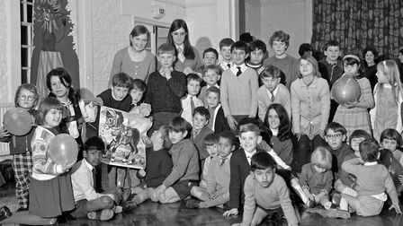 Forty children aged between 4 and 14 years enjoyed a party organised by members of the Weston-super-