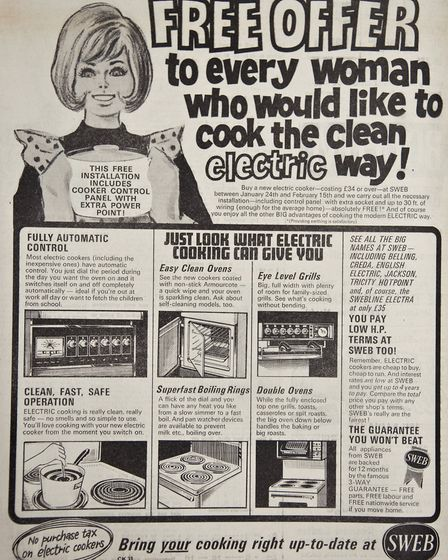 Ads 24th January 1969 Edition. Picture: MARK ATHERTON