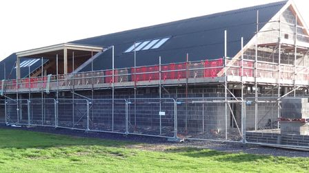 The exterior of Wedmore's new sports facility. Picture: IAN MONSON