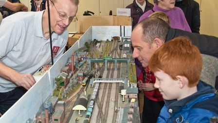 Model railway exhibition at Weston Museum. Picture: MARK ATHERTON
