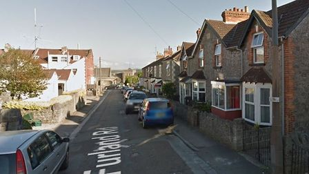 Crews called to fire at a terraced property in Furland Road.