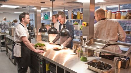 The Ethicurean Restaurant's reopening. Picture: MARK ATHERTON