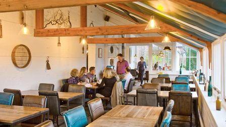 Customers attending The Ethicurean Restaurants reopening. Picture: MARK ATHERTON