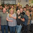 Charity night to celebrate the life of Long Ashton FC stalwart Paul Tilley. Picture: MARK ATHER