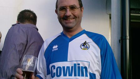 Paul was an avid supporter of Bristol Rovers.Picture: Tracey Prescott