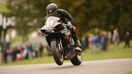 Chris Ganley hopes to race at the Isle of Man TT in 2023. Picture: Ian Boldy Superbike Photography