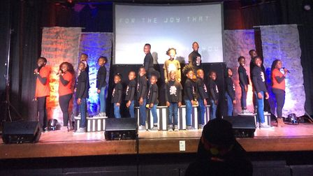 Watoto Children's Choir performing at Kings Of Wessex Academy. Picture: Jude Owens