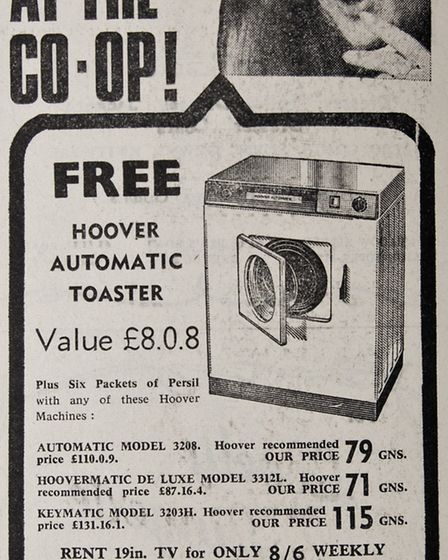 Ads 28th February 1969 Edition. Picture: WESTON MERCURY