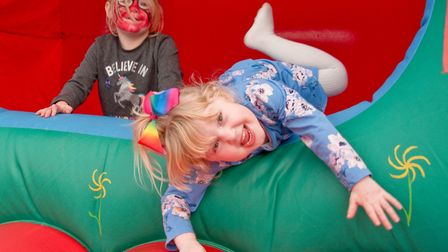 Family fun day at the Castle Batch Community Centre in Worle. Picture: MARK ATHERTON