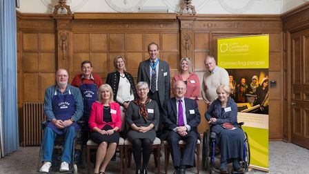The North Somerset Realising Potential Fund was launched at Clevedon Hall. Picture: Neil Edbrooke