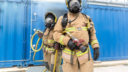 Avon Fire and Rescue Service launch apprenticeship scheme. Picture: AF&RS
