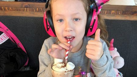 Lexie Birkhead has hyper mobility and sensory processing difficulties. Picture: Empica