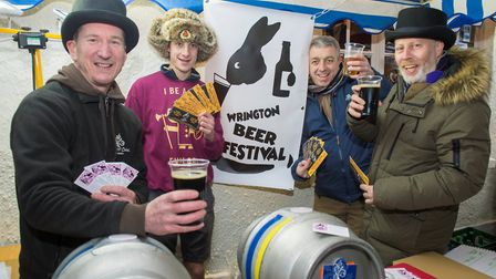The Wrington Beer Festival will be celebrated in the village this weekend.Picture: Wrington Beer Fes