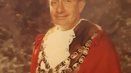 Maurice Watts was the mayor of Weston from 1978-79. Picture: Chris Millard
