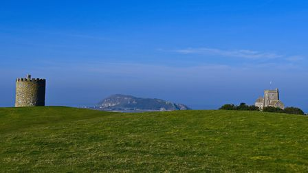 Brean down between Uphill beacon and church