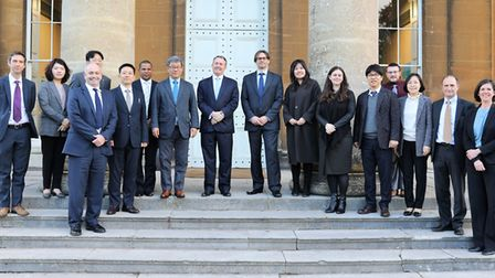 Liam Fox and GDS met with Korean Gyeonggi province delegates in Abbots Leigh. Picture: Charlotte Fen