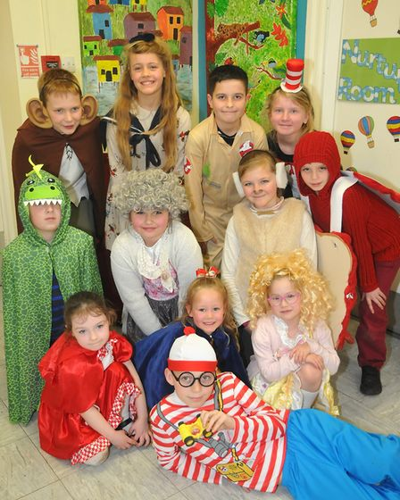 Court De Wyck Primary School, in Claverham, celebrated World Book Day. Picture: Jeremy Long