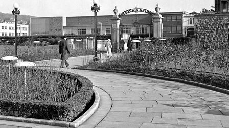 The Winter Gardens 50 years ago.