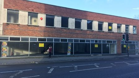 The building could be converted into the UK's first cannabis factory. Picture: Henry Woodsford