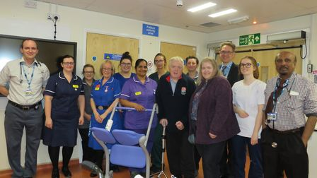 Uphill Wards stroke unit has been gifted with a piece of hospital equipment.Picture: Weston Area Hea