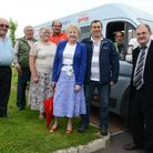 Existing members of the Churchill and Langford Minibus Society. Picture: Zak Ghent