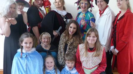 The LADS members will perform their panto this week.Picture: The Lympsham Amateur Dramatic Society