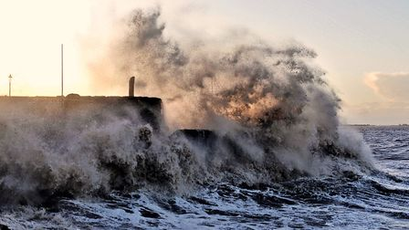Gusts are expected to reach 65mph in coastal areas. Picture: Terry Kelly