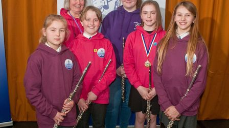 Toots who took part in the instrumental ensemble 3-6 instruments class. Picture: MARK ATHERTON