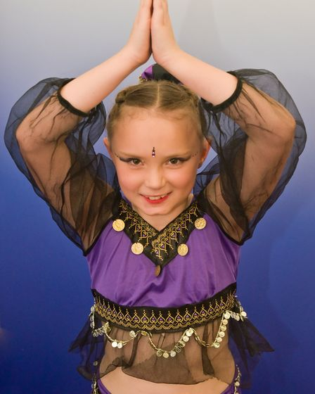 Carys Thornton in the character solo in the 7-8 years class.Picture: Mark Atherton