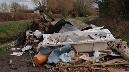 More than 2,000 incidents of fly-tipping were reported to the council last year.