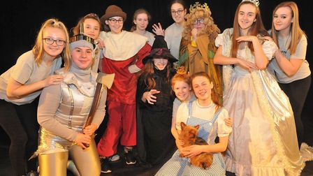 The Wizard of Oz' dress rehersal. Picture: Jeremy Long