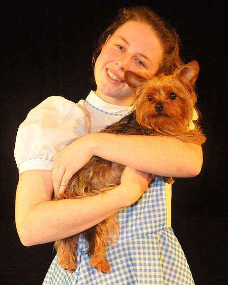 Dorothy and Toto. Picture: Jeremy Long