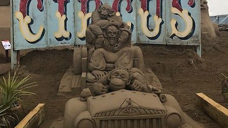 The Sand Sculpture Festival celebrated 150 years of circus last year.