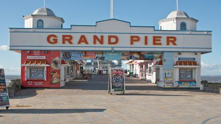 The Grand Pier will reopen tomorrow as normal.