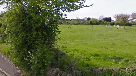 The proposed site is off Moor Road. Picture: Google Maps