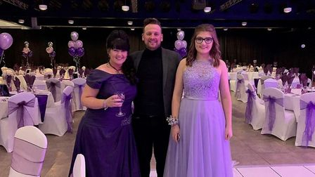 The Purple Ball was held at the Grand Pier. Picture: Tanya Russell