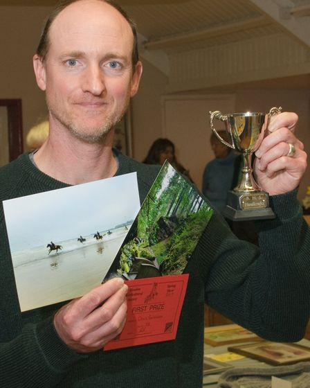 Bleadon Horticultural Society Spring Show, photography prize winner Chris Parkinson.