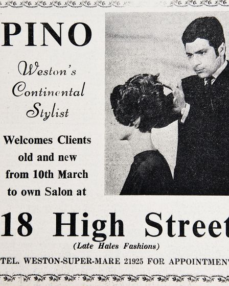Ads 14th March 1969 Edition. Picture: WESTON MERCURY