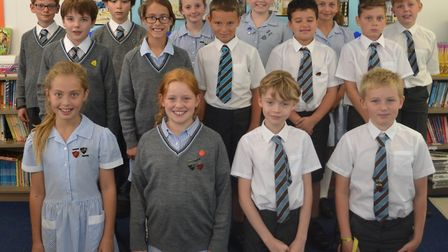 Eight students at Fairfiled School in Backwell have won scholarships to private sentior schools Pi