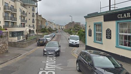 A man was threatened with a knife in Birnbeck Road.