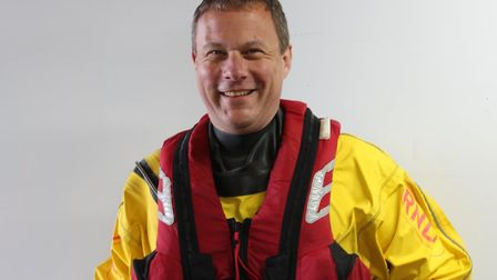 Mike Buckland, Weston RNLI's Lifeboat Operations Manager. Picture: Weston RNLI