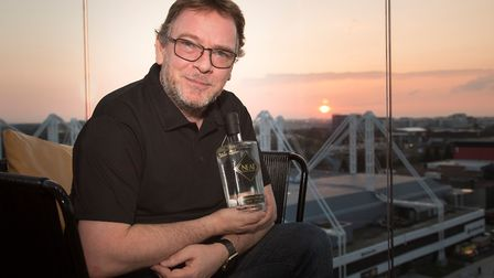 Adam Woodyatt will be talking about his NEAT Gin brand at Double Tree by Hilton Cadbury House Hotel