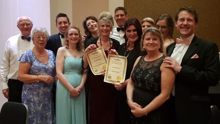 The Mendip Players have won awards at a ceremony in Plymouth.Picture: The Mendip Players
